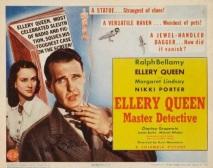 Ellery Queen Master Detective poster