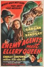 Enemy Agents Meet Ellery Queen - 1sht 1942 600