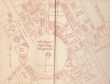 Wrightsville map
