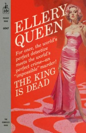 King is Dead paperback cover