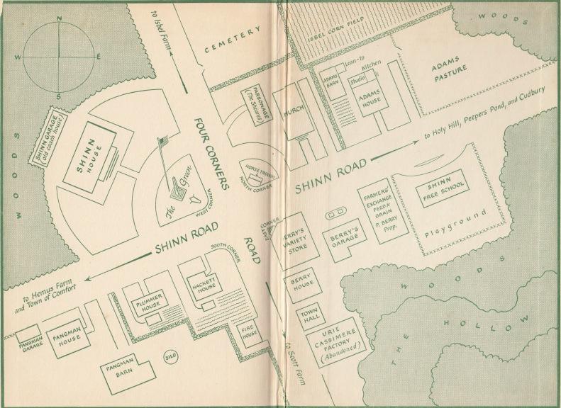Glass Village map