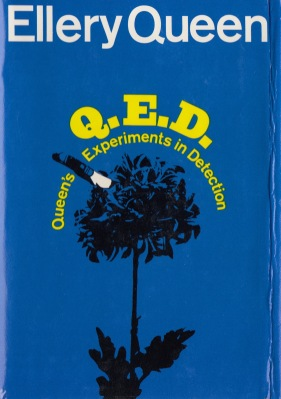QED dust jacket